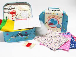 christmas stocking u0026 angel children u0027s craft kits from buttonbag
