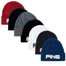 ping classic knit beanie hat