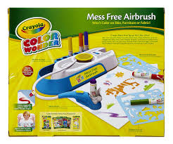 amazon com crayola color wonder mess free airbrush toys u0026 games
