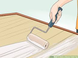 How To Build A Table Top How To Make A Mosaic Table Top 15 Steps With Pictures Wikihow