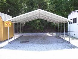 Attached Carports Flat Roof Carport Plans Popular Roof 2017
