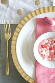 Pink And Gold Table Setting by Pink And Gold Valentine U0027s Day Table Chic California