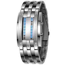 mens bracelet digital images Reebonz water resistant men date binary digital led bracelet watch jpg