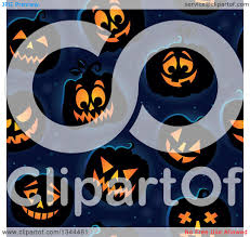 halloween repeating background patterns clipart of a seamless background pattern of illuminated halloween