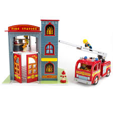 Firefighter Station Boots Canada by Le Toy Van Firestation Playset Alexandalexa