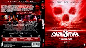cabin fever 3 patient zero blu ray dvd covers 2014 r2 german