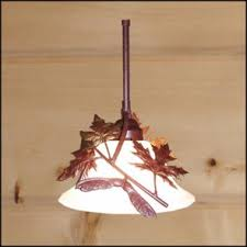 Leaf Pendant Light Pendant Lighting Lighting Rustic Products The Log Home Shoppe
