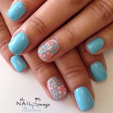 spring gel nail designs how you can do it at home pictures