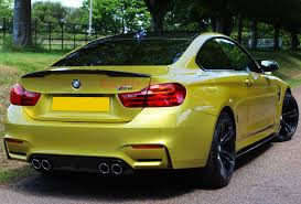 green bmw m4 carbonwurks custom carbon fibrebmw m4 coupe carbon fibre rear