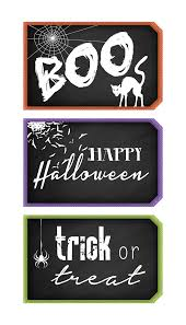 halloween chalkboard tags the cottage market