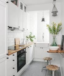 photo de cuisine blanche 1001 astuces et idées pour aménager une cuisine en l