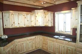 Knotty Pine Cabinets Kitchen Cabinetry Kitchens And Baths Timber Country Cabinetry