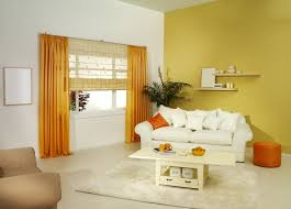Two Different Colored Curtains Living Room Living Room Modern Scandinavian Style Leather Sofas