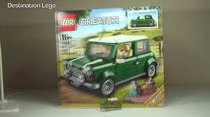 lego mini cooper engine lego creator mini cooper set 10242 unboxing video 2014 youtube