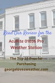 acurite 01036 pro weather station review george loves weather