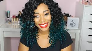 Pretty Colors To Dye Your Hair How To Dye Teal Green Ombre Tutorial On Black Hair Chimerenicole