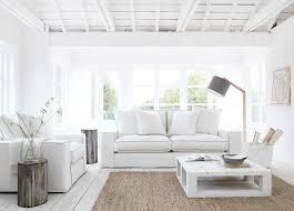 beach house white interior coastalstyle beach house pinterest