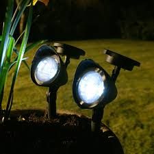 Landscape Flood Light by Solar Landscape Lighting 1 Solar Light Replacement Ground Stakes