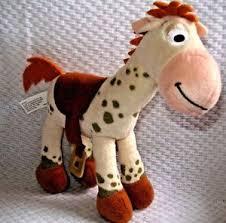 disney parks plush bullseye toy story racehorse 2 spotted
