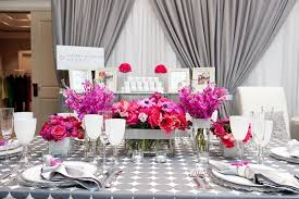 and silver wedding fuchsia and hot pink wedding color combination ideas