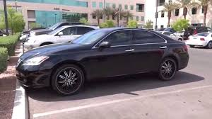 2008 lexus es 350 review 2009 lexus es 350 w custom rims walkaround