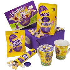 cadbury mini eggs easter gift hamper cadbury gifts direct