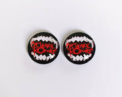 my chemical earrings my chemical etsy