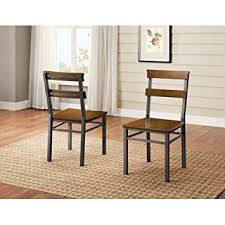 Better Homes And Gardens Dining Table Amazon Com Better Homes And Gardens Mercer Dining Chair Set Of