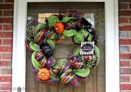 halloween wreath halloween deco mesh wreath tutorial big bear s wife