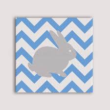 toile pour chambre bébé lapin peint à la toile tableau pour chambre d enfant bébé