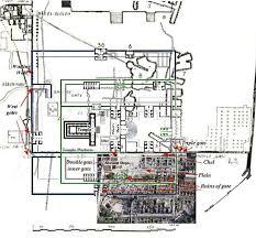 The Warren Floor Plan by Location Of The Temple In Jerusalem Warren Suvey Map