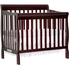 Crib Bed Convertible by Convertible Mini Crib With Mattress Best Mattress Decoration