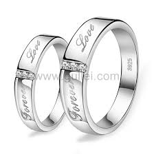 personalized rings for forever personalized commitment ring for him and