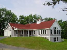 red roof with white wall home outside color schemes can be latest