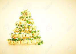 3d xmas gift christmas tree spiral shape concept a4 horozontal