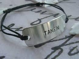 Anniversary Gifts For Men Engagement - taken bracelet taken boyfriend girlfriend jewelry personalized