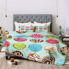 Duvet Donuts Evgenia Chuvardina Sweet Donuts Comforter Deny Designs