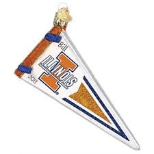 of illinois illini ornaments gifts personalized