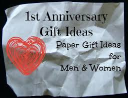 1st anniversary gift ideas for wedding anniversary gift for husband present ideas th