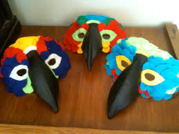 crow mask halloween bird mask 6 steps with pictures
