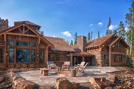 rustic log cabin luxury defined in this rocky mountain getaway