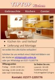 gebrauchte küche verkaufen tiptop küche gebrauchte küchen ankauf verkauf in nordrhein