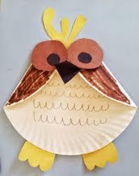 fun activities for kids paper plate owl craft fun activities