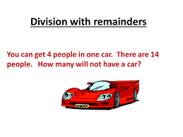 division with remainder word problems by misseastsclass teaching