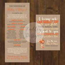 wedding programs exles fan wedding program exles picture ideas references