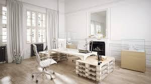 bureau palette bois bureau en palette de bois 20 idées pour le fabriquer et l aménager