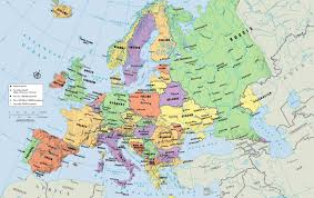 atlas map of europe atlas map of europe major tourist attractions maps