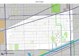 12th ward chicago map map of building projects properties and businesses in