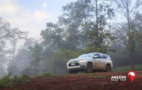 mitsubishi outlander sport off road view wildlife in their habitat with mitsubishi pajero sport