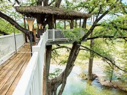 these amazing texas treehouses take glamping to new heights